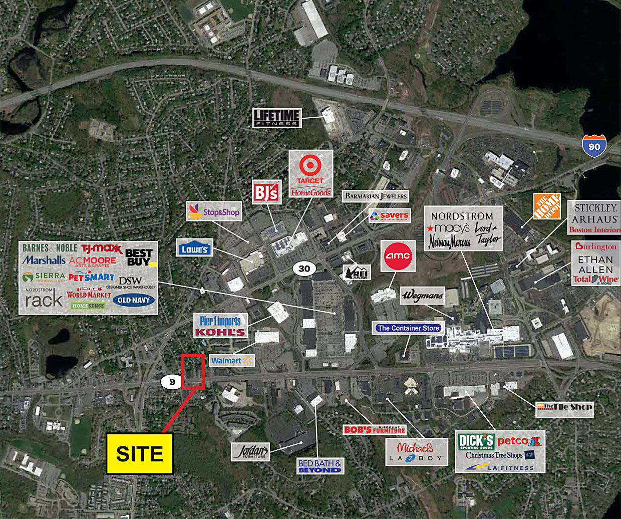 277 279 Worcester Road Framingham Ma Retail Real