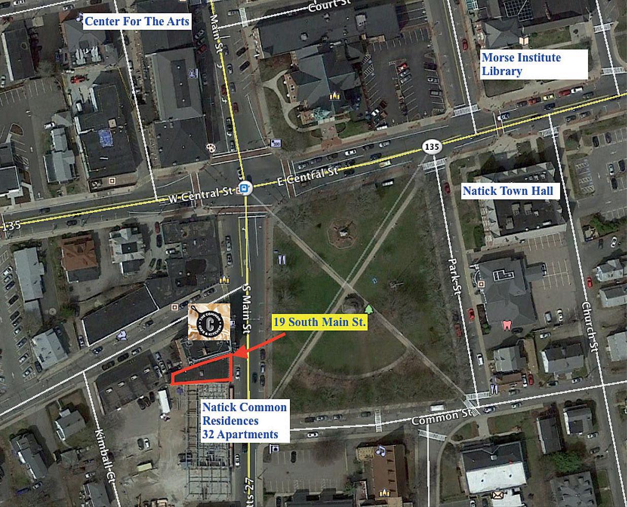 Retail Real Estate Advisors - Property - 19 South Main Street, Natick, MA